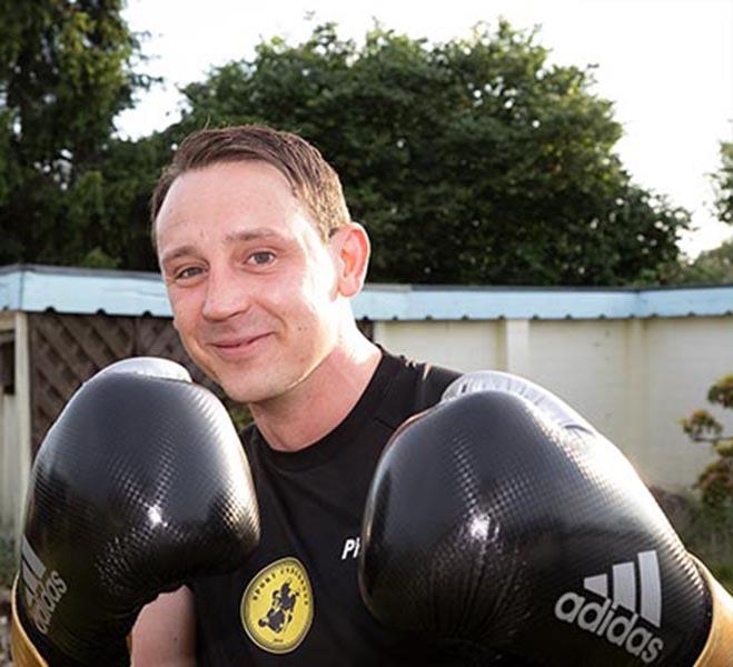 Andreas Schumacher Inhaber der MMA-Sportschule Underdogs in Castrop-Rauxel bei Dortmund