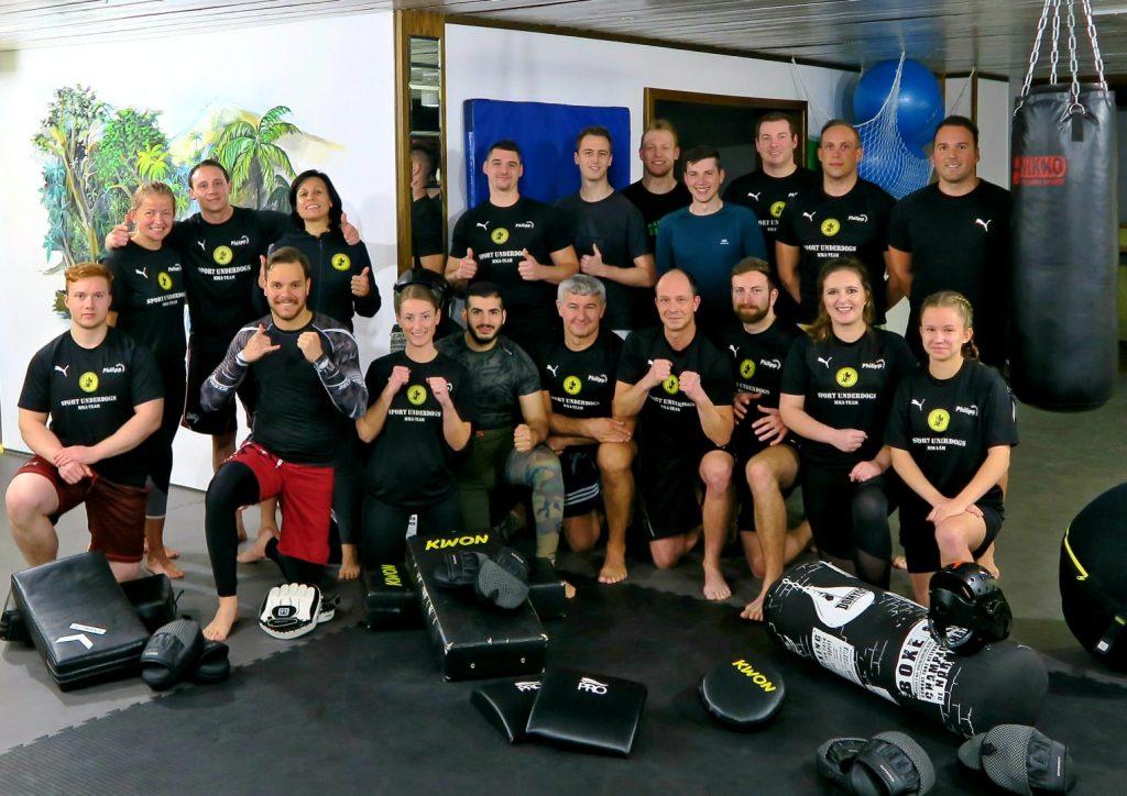 Gruppenbild Sportschule Sport Underdogs Castrop-Rauxel